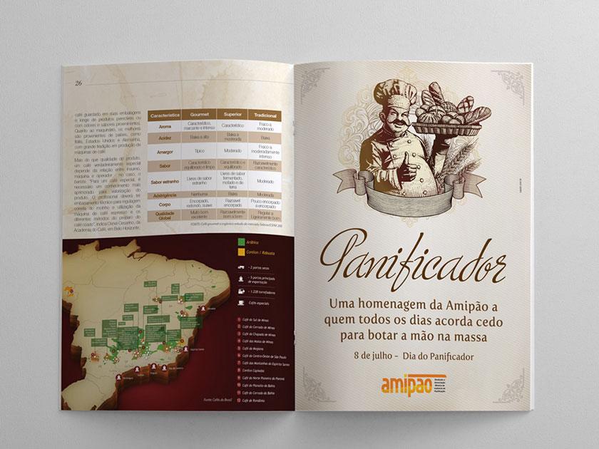 revista amipao editorial diagramacao associacao belo horizonte designer design grafico