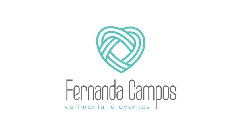logotipo vertical fernanda campos cerimonial e eventos